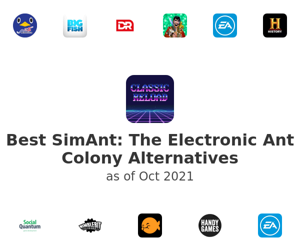 Best SimAnt: The Electronic Ant Colony Alternatives