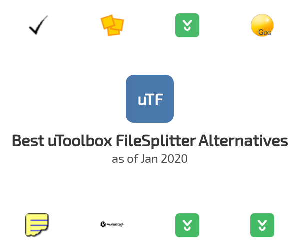 Best uToolbox FileSplitter Alternatives