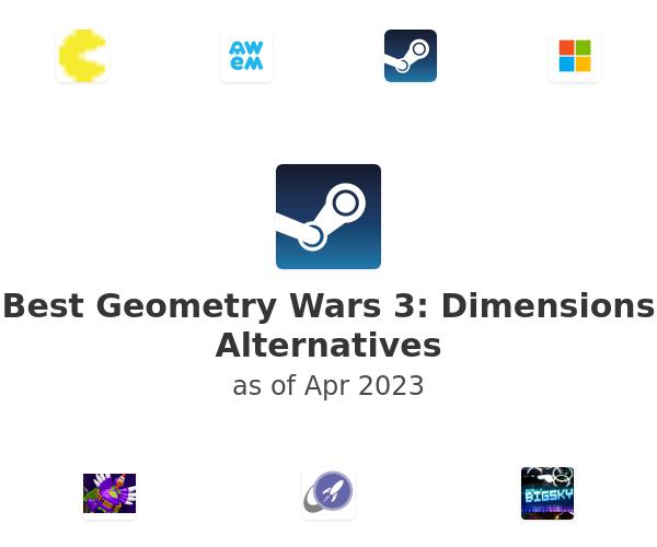 Best Geometry Wars 3: Dimensions Alternatives