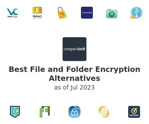 Best File and Folder Encryption Alternatives