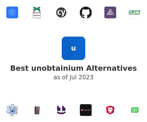Best unobtainium Alternatives