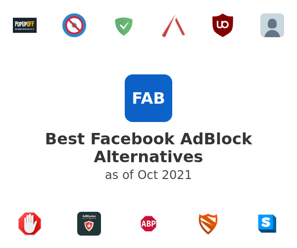 Best Facebook AdBlock Alternatives