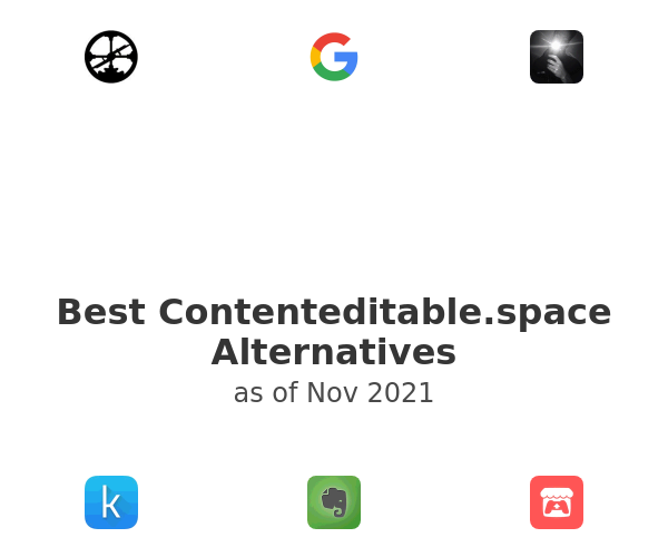 Best Contenteditable.space Alternatives
