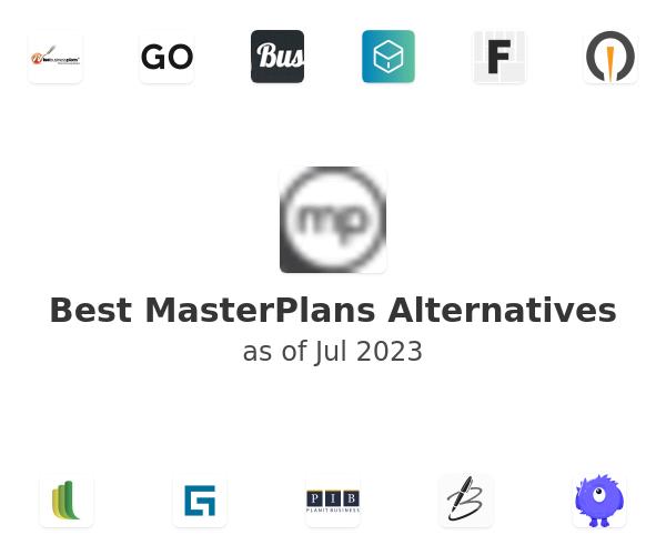 Best MasterPlans Alternatives