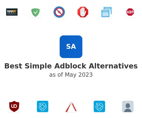Best Simple Adblock Alternatives