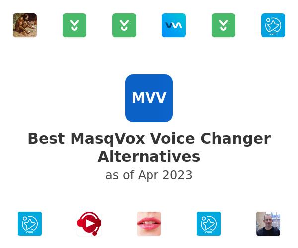 Best MasqVox Voice Changer Alternatives