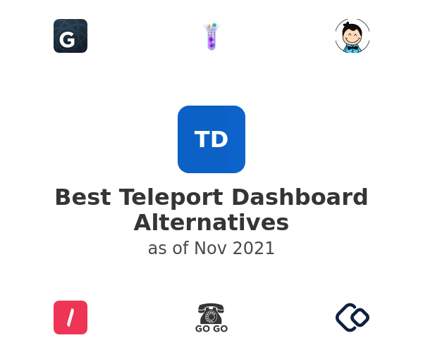 Best Teleport Dashboard Alternatives