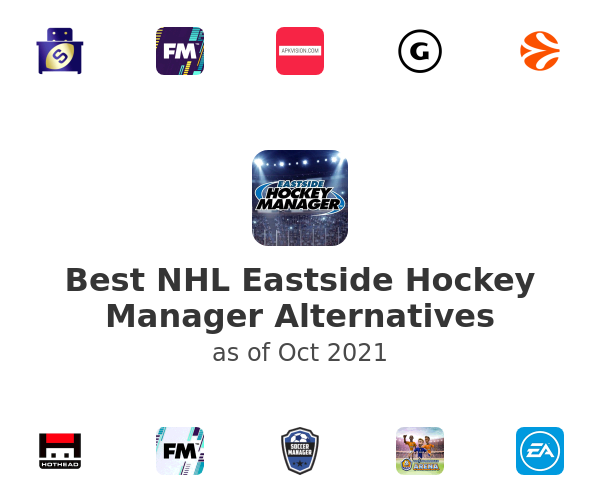 Best NHL Eastside Hockey Manager Alternatives