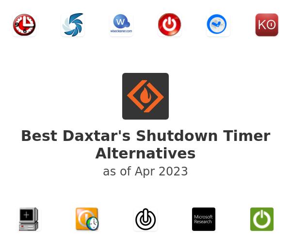 Best Daxtar's Shutdown Timer Alternatives