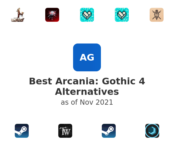 Best Arcania: Gothic 4 Alternatives