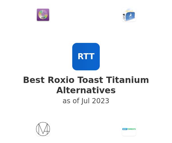 Best Roxio Toast Titanium Alternatives