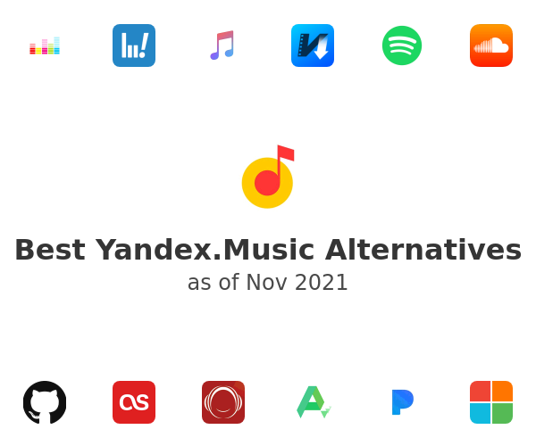 Best Yandex.Music Alternatives