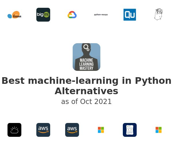 Best machine-learning in Python Alternatives