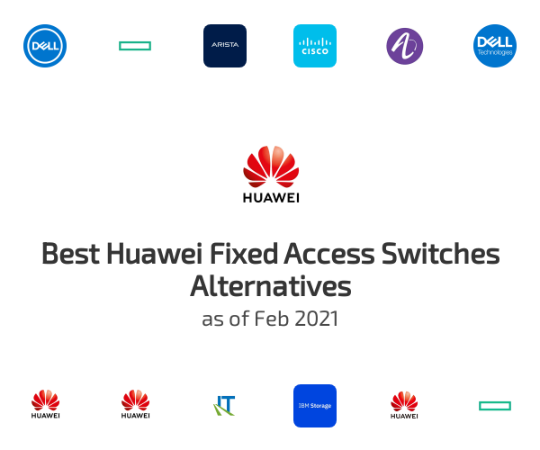Best Huawei Fixed Access Switches Alternatives