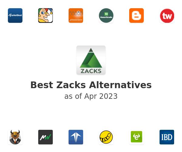 Best Zacks Alternatives