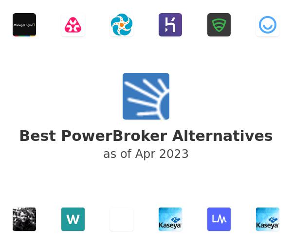 Best PowerBroker Alternatives