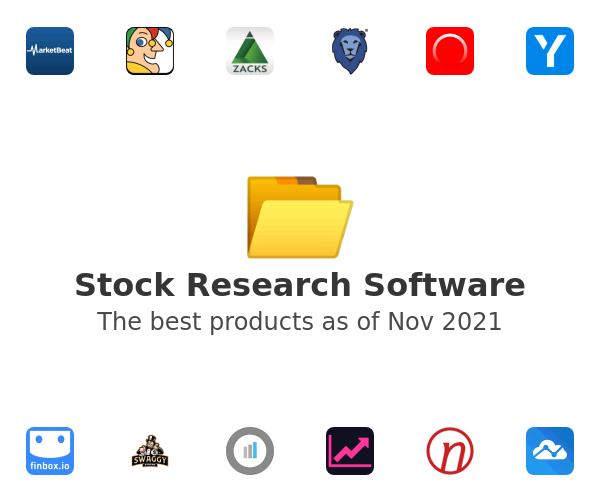 Stock Research Software