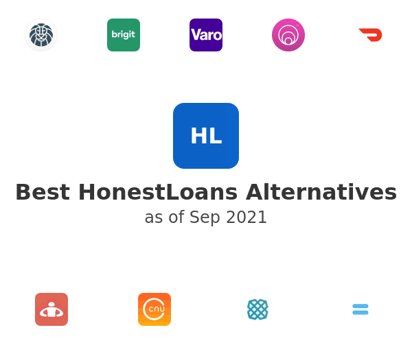 Best HonestLoans Alternatives