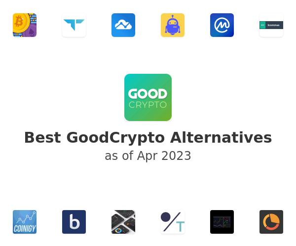 Best GoodCrypto Alternatives