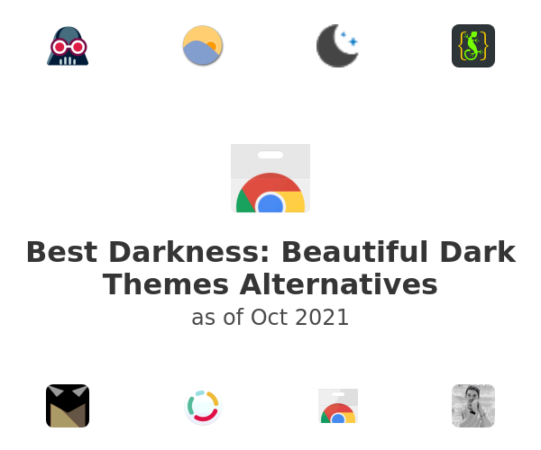 Best Darkness: Beautiful Dark Themes Alternatives