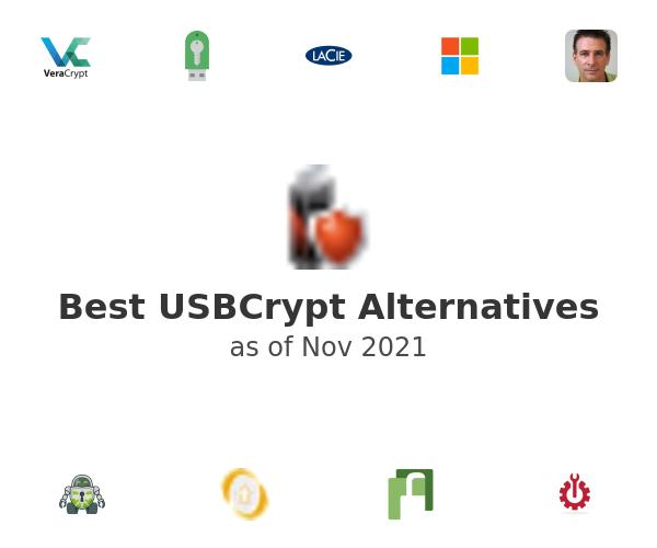 Best USBCrypt Alternatives