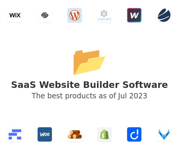 SaaS Website Builder Software