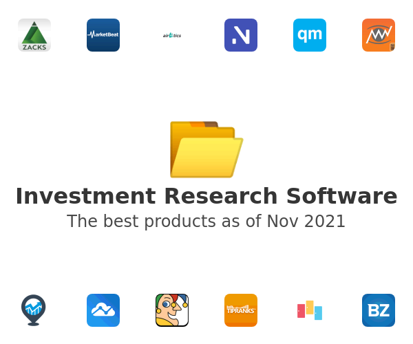 Investment Research Software