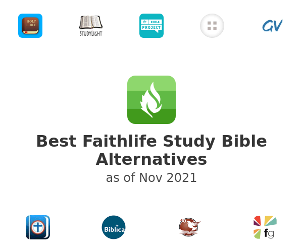 Best Faithlife Study Bible Alternatives