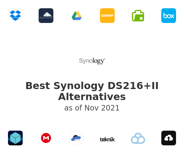 Best Synology DS216+II Alternatives