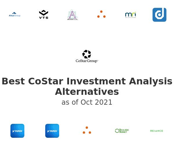 Best CoStar Investment Analysis Alternatives