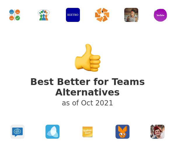 Best Better for Teams Alternatives