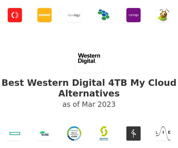 Best Western Digital 4TB My Cloud Alternatives