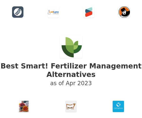 Best Smart! Fertilizer Management Alternatives