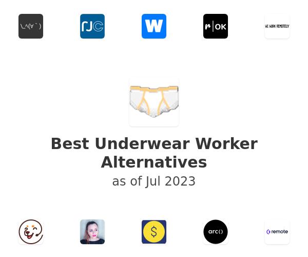 Best Underwear Worker Alternatives