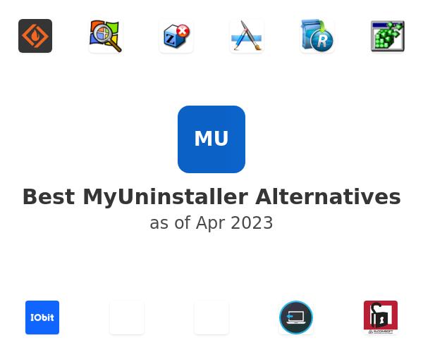 Best MyUninstaller Alternatives