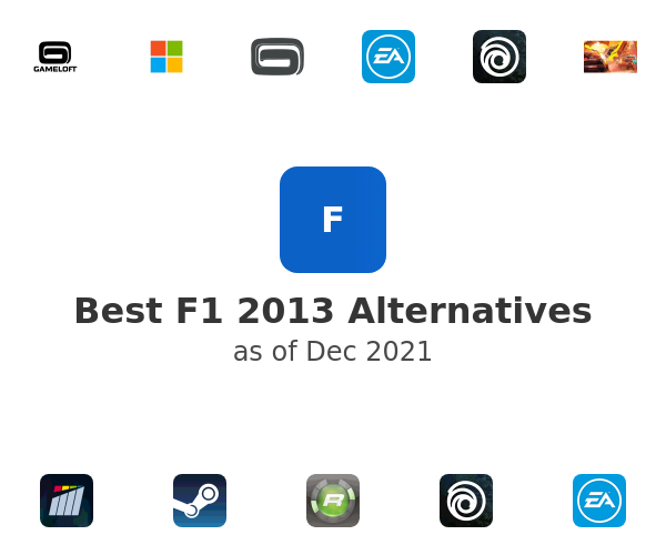 Best F1 2013 Alternatives