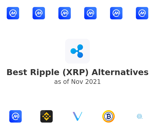 Best Ripple (XRP) Alternatives