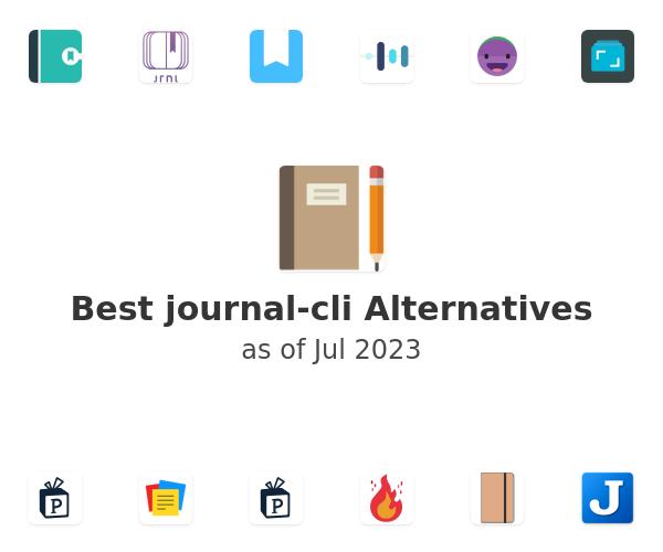 Best journal-cli Alternatives