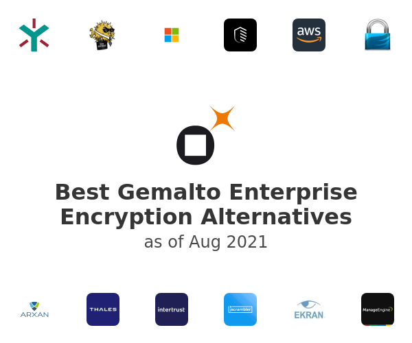 Best Gemalto Enterprise Encryption Alternatives