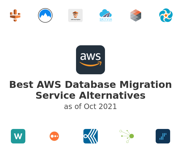Best AWS Database Migration Service Alternatives