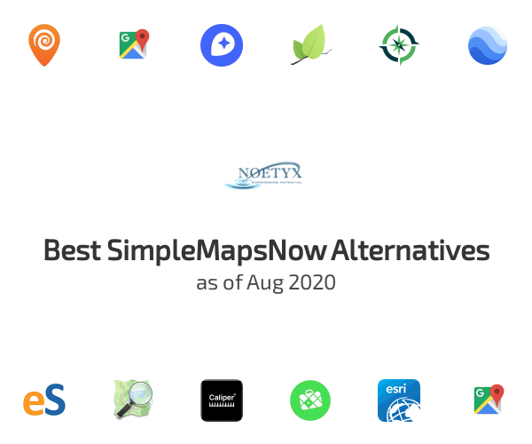 Best SimpleMapsNow Alternatives