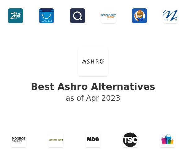 Best Ashro Alternatives