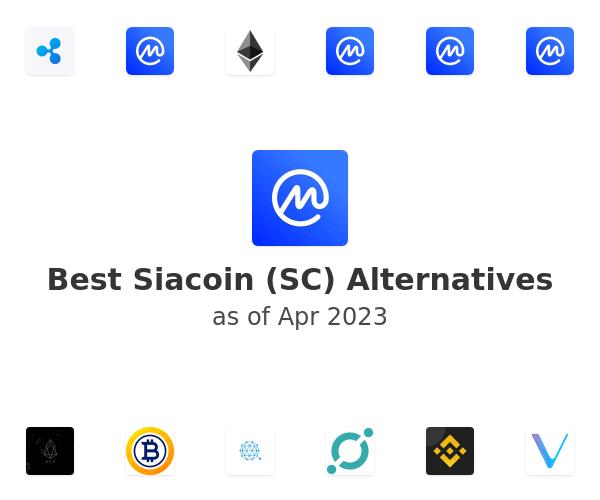Best Siacoin (SC) Alternatives