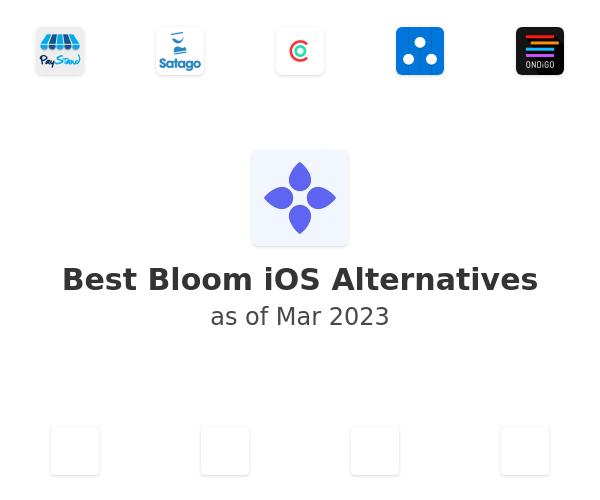 Best Bloom iOS Alternatives
