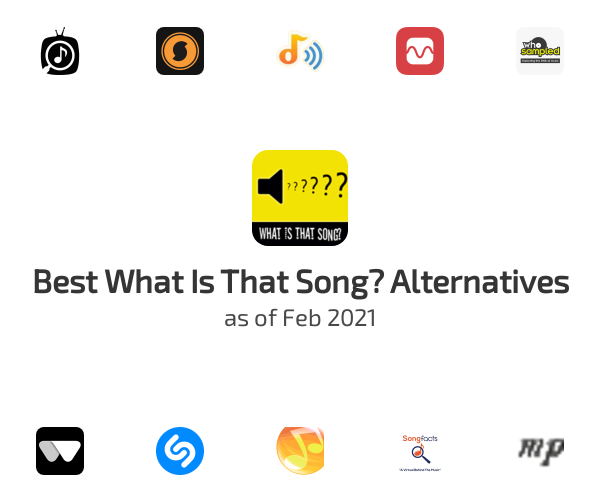 Best What Is That Song? Alternatives