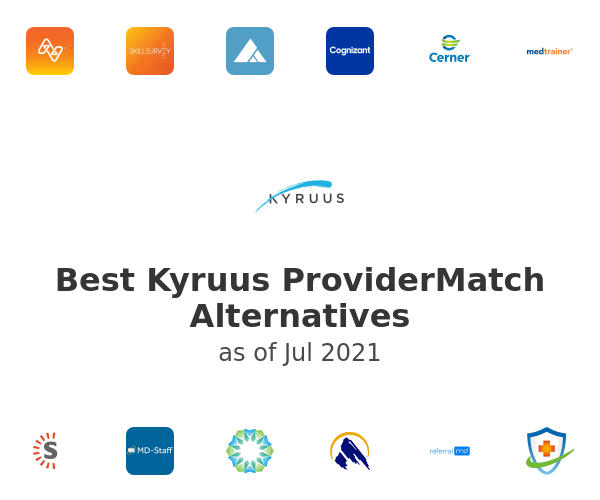 Best Kyruus ProviderMatch Alternatives