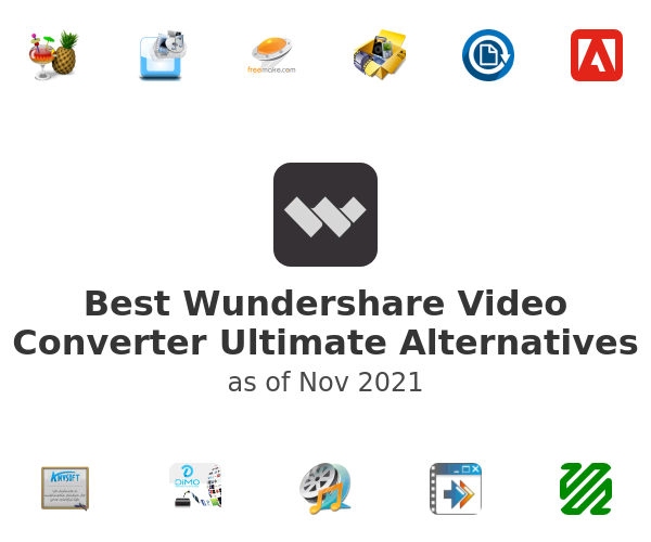 Best Wundershare Video Converter Ultimate Alternatives