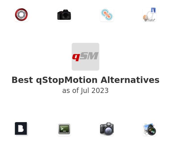 Best qStopMotion Alternatives