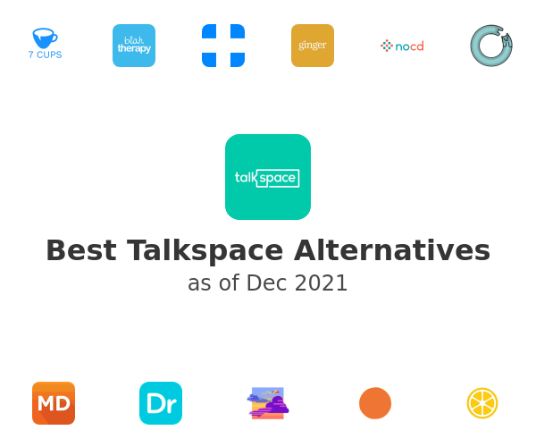 Best Talkspace Alternatives