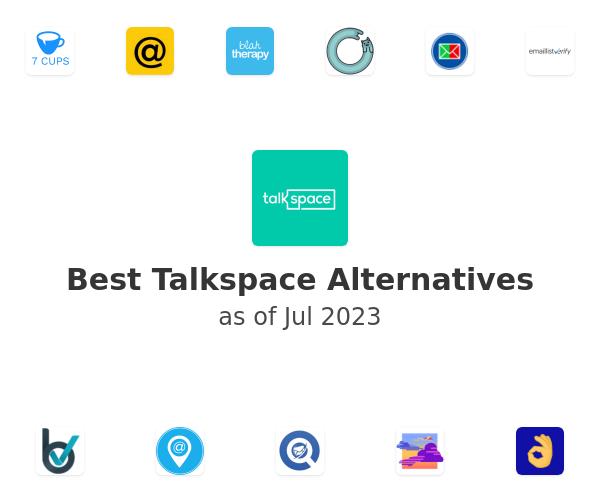 Best Talkspace Alternatives
